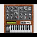 フリーのmoog系シンセ「nanoog」が64bitに対応してバージョンアップ!