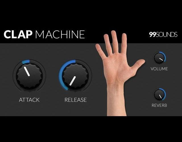 ハンドクラップ専用フリーVSTプラグイン「Clap Machine」