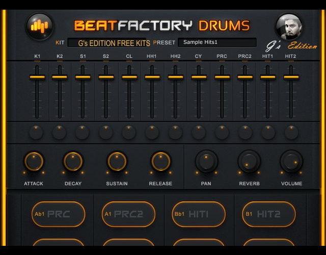 【無料】EDMに最適!リズムマシンプラグイン「Beat Factory Drums」
