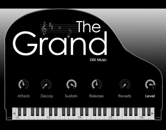 DSK Musicのフリーグランドピアノ音源「DSK The Grand」