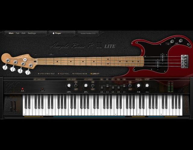 パワフルな無料プレシジョンベース音源「Ample Bass P Lite II」