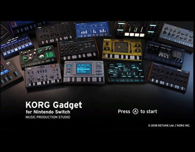 知らない人と曲作り!KORG Gadget for Nintendo Switchがすごい!!