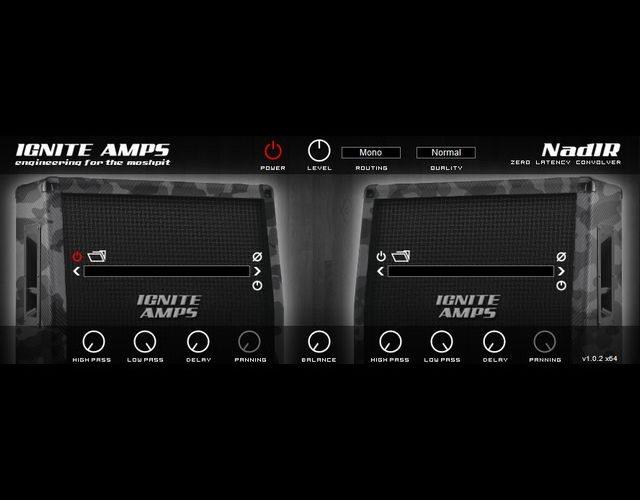 ギターアンプの音響を再現する無料キャビネットシミュレーター「NadIR」
