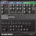 プリセット豊富の定番フリーシンセサイザー「TAL-NoiseMaker」