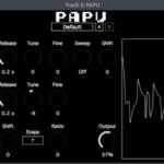 ゲームボーイ音源をエミュレートしたフリーVSTプラグイン「PAPU」