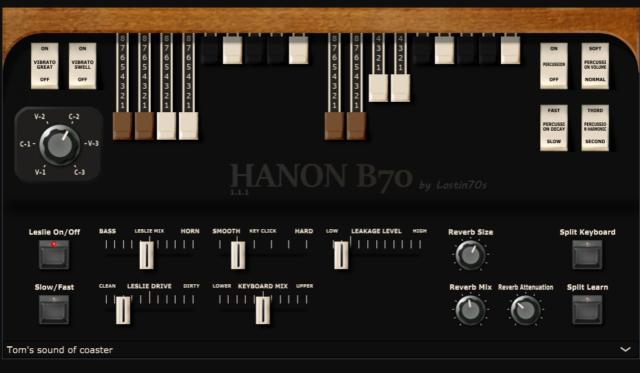 【無料】高品質なハモンドオルガン音源「HaNon B70」