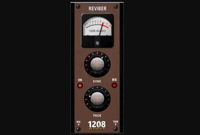たった二つのノブで音を良質に!無料エンハンサー「Reviber」1208 AUDIO PLUGINS