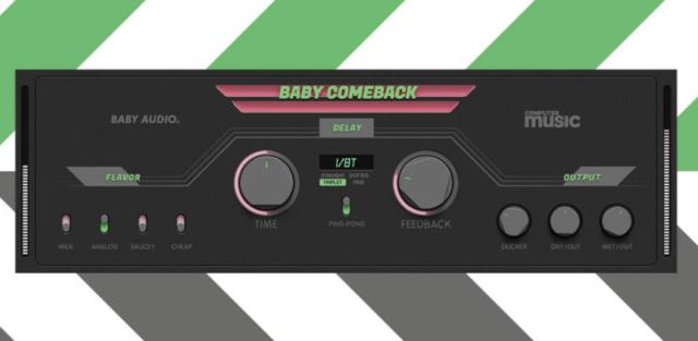 フリー!受賞歴ありディレイ・プラグインの簡易版「Baby Comeback」