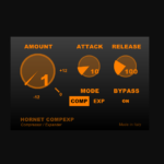 電話回線用チップを元に制作されたフリーのコンプレッサー「CompExp」