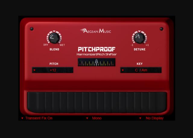 ハモリを作り出す無料ピッチシフタープラグイン「Pitchproof」
